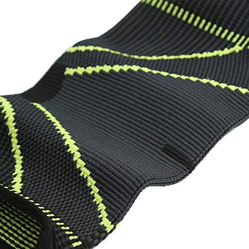 Omenluck 1 Pair Elbow Support Sleeve Arm Protector Knitted Breathable For Outdoor Sports Basketball Volleyball