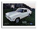Iposters Ford Capri 1971 Auto Werbung Aufdruck Neu Größe