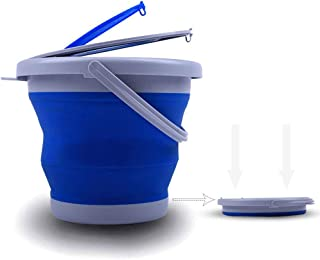 Best collapsible bucket with lid Reviews