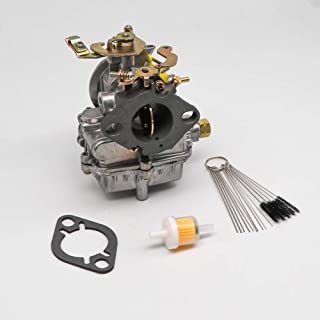 KIPA Carburetor For Ford 1957 1960 1962 144 170 200 223 6-Cyl 4-Cyl 1 Barrel Replace 1904 holley Manual Choke