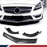 Buxcvo Labio Delantero de Carbono Past Voor Mercedes Benz CLS Class W218 Cls63 Amg Cls500 Sport 2011-2014 Kin Spoiler Voorbumper Lip Spoiler Chin Splitter Fabriek Verkoop