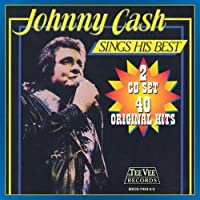 Sings His Best by Johnny Cash