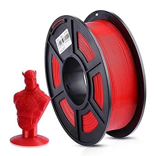 ANYCUBIC Filamento 1.75 PLA Rosso, 1kg Filamento per stampante 3D PLA