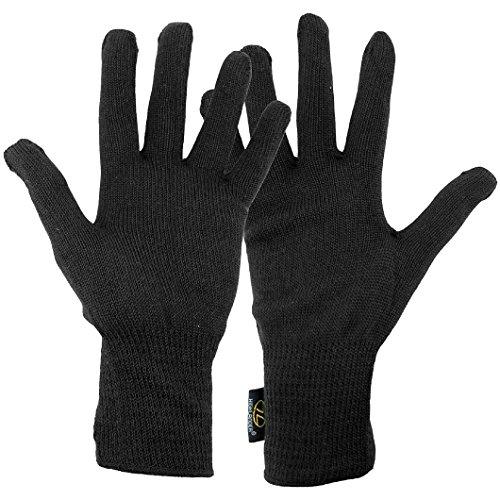 HIGHLANDER sous-Gants Thermiques Noir Noir Taille Unique