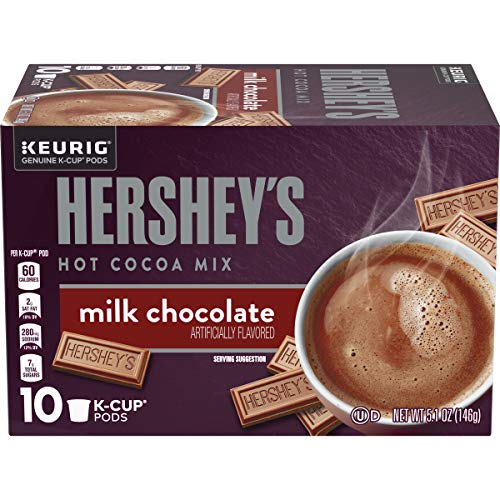 Hershey's Milk Chocolate Hot Cocoa K-Cup Pods (60 Pods, 6 Packs of 10)