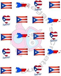 puerto rican nail art
