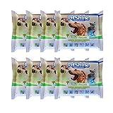 PETSHINE 120 toallitas desinfectantes limpiadores de oídos para Perros Gatos Mascotas toallitas de Limpieza 20X20cm con Aceite de árbol de té toallitas húmedas sin Alcohol y parabenos