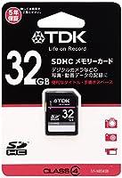 TDK SDHCカード 32GB Class4 (5年保証) T-SDHC32GB4