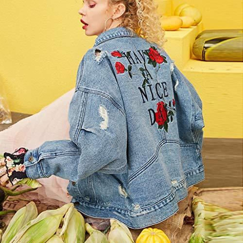 NZJK herfst uitgevrande denim bomber jeanjas dames Basic Single Button Lady Casual Retro Veste Femme Fashion jas Streetwear