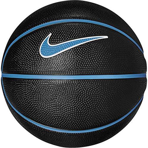 Balón pequeño de Baloncesto, Negro y Azul, Talla 3
