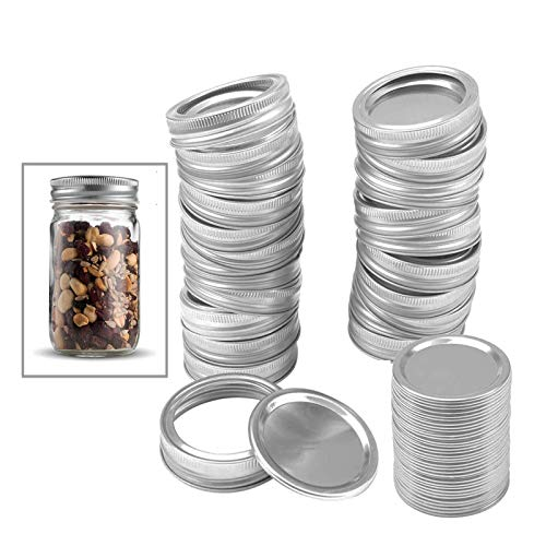 Stainless Steel Lids & Bands for Mason Jar