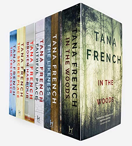Dublin Murder Squad Series 6 Books Collection Set by Tana French (In The Woods, The Likeness, Faithful Place, Broken Harbour, Secret Place & The Trespasser)