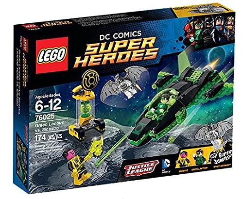 LEGO - Linterna Verde vs. Sinestro, Multicolor (76025) ✅