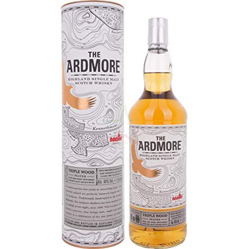 The Ardmore TRIPLE WOOD Peated Highland Single Malt Scotch Whisky 46,00% 1,00 Liter