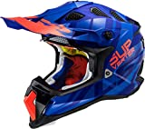 LS2 Helm MX 470 Subverter Blau Gr. L