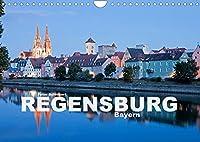 Regensburg - Bayern (Wandkalender 2022 DIN A4 quer): Eine der schoensten Staedte Bayerns und ganz Deutschlands in einem Kalender vom Reisefotografen Peter Schickert. (Monatskalender, 14 Seiten )