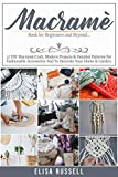 MACRAMÉ Book for Beginners and Beyond.: 37 DIY Macramé Craft, Modern Projects & Detailed Patterns For Fashionable Accessories And To Decorate Your Home & Garden.