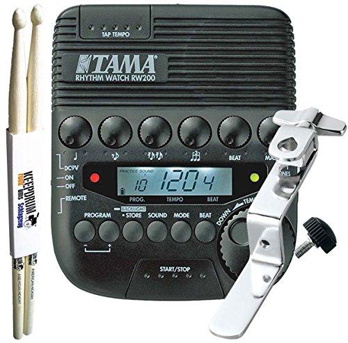 Tama Rhythm Watch rw200+ rwh10Holder + baquetas Keepdrum