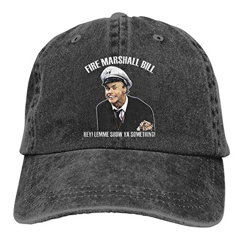 Unisex in Living Color Fire Marshall Bill Popular Adult Adjustable Denim Cowboy Hat Casquette