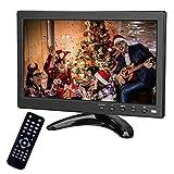 Monitor portatile da 10.1 pollici TFT LED 1366 x 768 con HDMI VGA BNC Porta USB AV Altoparlante incorporato per telecamera di backup per auto PC TV Camera Raspberry Pi Window 7 8 10 IOS