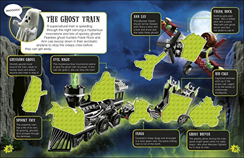 Ultimate Sticker Collection: Lego Spooky!: More Than 1,000 Reusable Full-Color Stickers (Ultimate Sticker Collections)