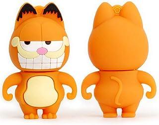 USB Flash Drive USB Flash Disk Memory Stick Thumb Pen Hi-Speed USB2.0 Cartoon Cute Anime Mini Garfields Novelty Animal Fat...