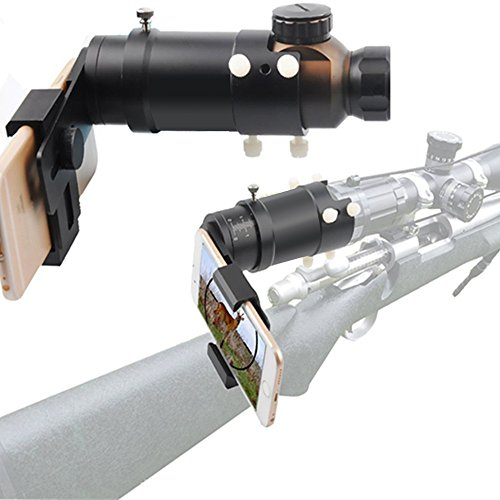 SOLOMARK Rifle Scope Adapter Smartphone Mounting System- Smart Shoot Scope Mount Adapter - Display and Record The Discovery