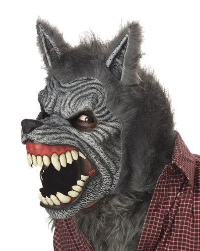 California Costumes Werewolf Mask,Assorted,One Size