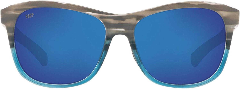 Costa Del Mar Men's Vela Rectangular Sunglasses