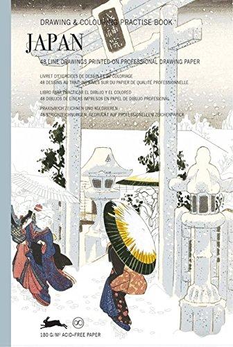 Japan: Drawing & Colouring Practise Book (PEPIN Drawing & Colouring Practise Books)