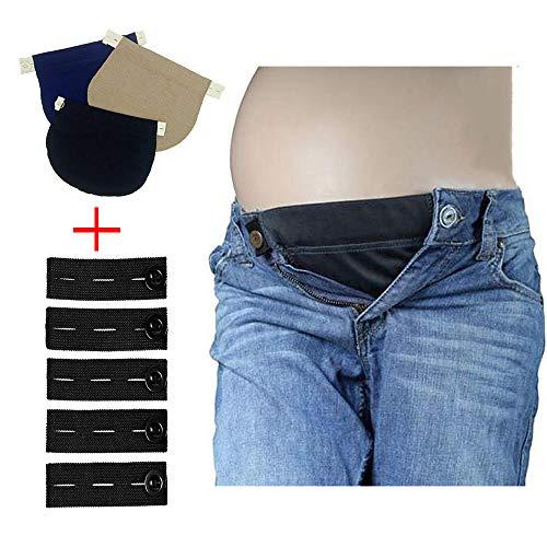 Maternity girth for pregnant belt extender pregnant women can adjust elastic pants men beer belly