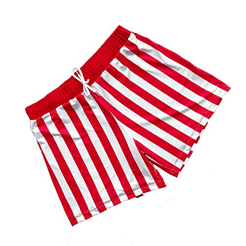 ZKKK Einstellbare Damen-Bademode + Komfortable Cotton Printed Strand Shorts Geeignet Für Sommer Strände Paare Bikini Beach Shorts Hart Cup Bügel Augen Straps Gesammelt,Man,S