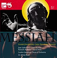 Handel: Messiah & Excerpts From Jephtha; Judas Maccabaeus; Samson by Dame Joan Sutherland (2010-11-16)