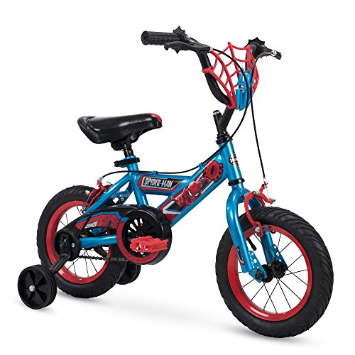 "Huffy Bicycle Company 12"" Marvel Spider-Man Boys Bike, Web Plaque - 72168 - 72168"