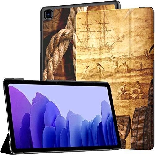 Funda para Tableta Samsung A7 Adventure Stories Funda de Fondo para Samsung Galaxy Tab A7 10,4 Pulgadas Funda Protectora de liberación 2020 Funda Samsung Galaxy A7 Funda para Tableta Funda de Cuero P