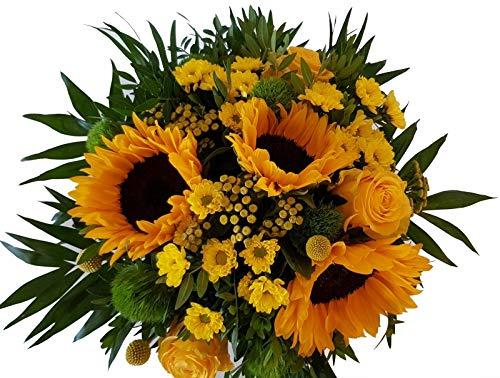 Flora Trans Blumen verschicken - Sonnenblumenstrauß -Sun Flower-