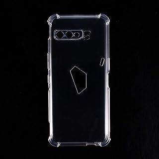 Asus ROG Phone 3 ZS661KL Case, Scratch Resistant Soft TPU Back Cover Shockproof Silicone Gel Rubber Bumper Anti-Fingerprin...