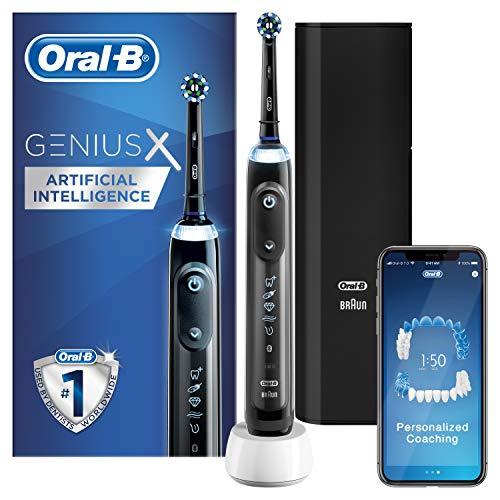 Oral-B Genius X with Artificial Intelligence Black Electric...
