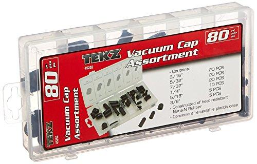 Titan TIT45252 80 Piece Vacuum Cap Assortment