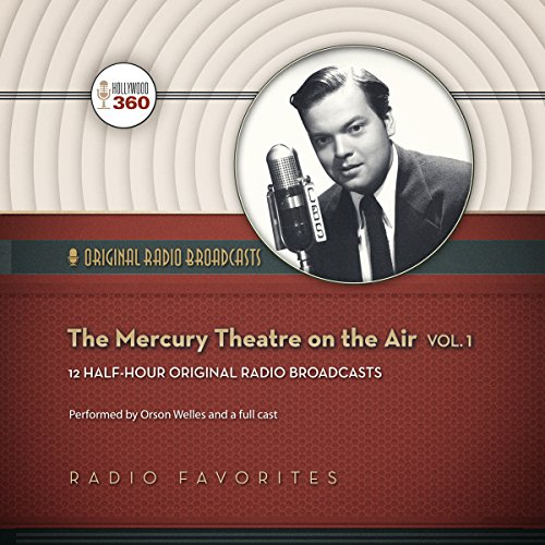 The Mercury Theatre on the Air, Vol. 1 cover art