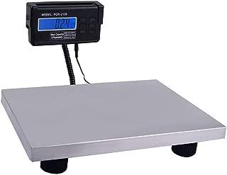 Escala postal de envío 300kg 660lb Digital intensivo industrial paquete del poste del Suelo de la oficina báscula de mesa LCD de alimentación de CA