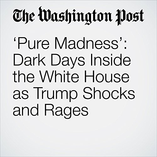 'Pure Madness': Dark Days Inside the White House as Trump Shocks and Rages copertina
