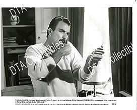 MOVIE PHOTO: HER ALIBI-8X10-PROMO STILL-TOM SELLECK-COMEDY-CRIME-MYSTERY-1989 VG/FN