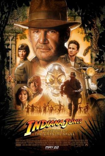 Indiana Jones Crystal Skull Movie Poster 24in x36in