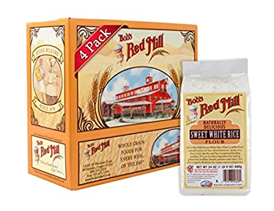 Bob's Red Mill Sweet White Rice Flour, 24 Ounce (Pack Of 4)