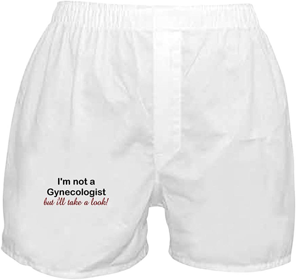 Price reduction CafePress IM NOT A Gynecologist BUT Louisville-Jefferson County Mall Boxer Shorts TAKE Ill