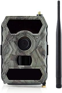YKJL 3G 1080P 16MP Trampa Fotos cámara Vida Silvestre con transmisión teléfono Celular Cámara Caza a Prueba Agua IP54 con Detector Movimiento Visión Nocturna infrarroja 15m- A