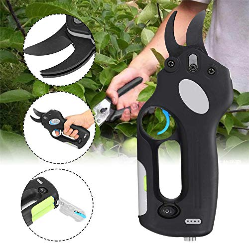 Buy Bargain Zhoumin Cordless Electric Scissors Pruning Shears Tree Garden Tool Branches Pruning Tool...