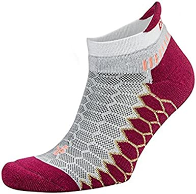 Balega Womens Balega Silver Antimicrobial No-show Compression Fit Running Socks