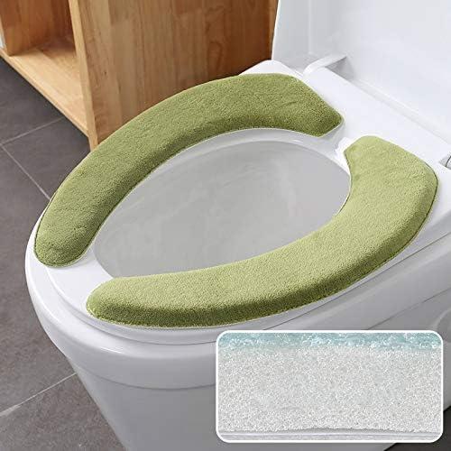 Verdikking wctoiletstickers toiletkussen toiletkussen plakken type kussen stickers universele winter toiletset huiselijk en